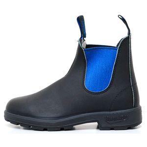 BS515500-8 ブランドストーン 男女兼用 サイドゴアブーツ(ボルタンブラック×ブルー・サイズ:8(26.5cm)) Blundstone #515 CLASSIC