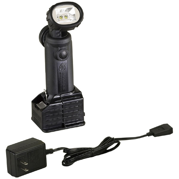 90610 ストリームライト LED懐中電灯(ブラック)200ルーメン STREAMLIGHT ナックルヘッド標準セットAC/DC