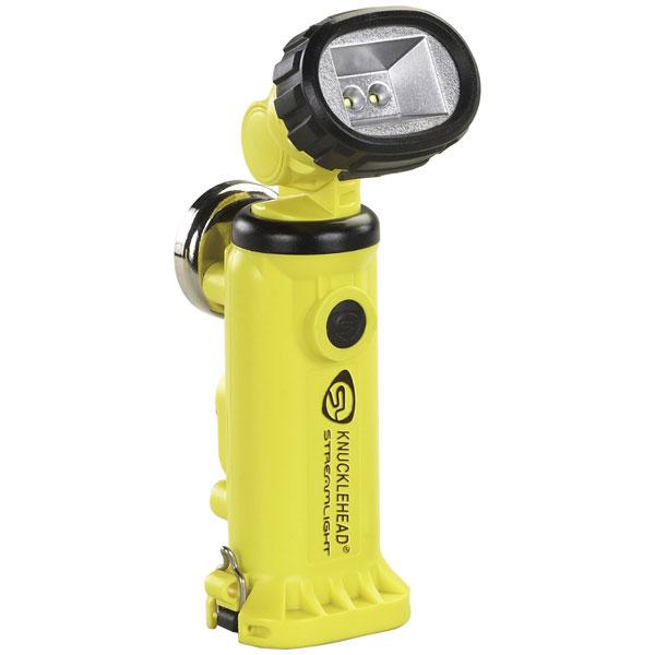 90642 ストリームライト LED懐中電灯(イエロー)200ルーメン STREAMLIGHT ナックルヘッド乾電池モデル [90642ストリムライト]