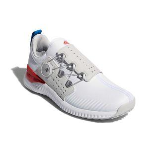 AD18SS F33572 265 アディダス アディクロスバウンスボア(人工皮革)(ホワイト/グレーワン/ラッシュブルー・26.5cm) Adidas 18SS adicross bounce Boa