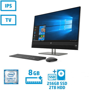 4YR07AA-AAAC ヒューレット・パッカード 27型デスクトップパソコン HP Pavilion 27-xa0170jp (Core i7/メモリ 8GB/SSD 256GB + HDD 2TB)