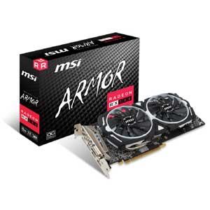 Radeon RX 580 ARMOR 8G OC MSI PCI Express 3.0 x16対応 グラフィックスボードRadeon RX 580 ARMOR 8G OC