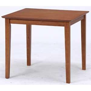 98858 不二貿易 ダイニングテーブル スノア(幅75×奥行75cm・ブラウン) SONOA