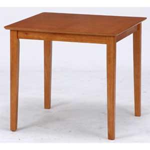 98859 不二貿易 ダイニングテーブル スノア(幅75×奥行75cm・ライトブラウン) SONOA
