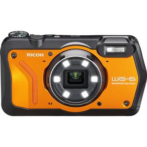 WG-6OR リコー デジタルカメラ「RICOH WG-6」(オレンジ)