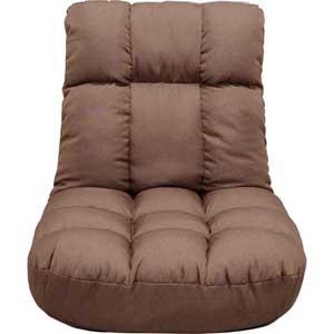 PCC-700 ブラウン アイリスオーヤマ 広座面ポケットコイル座椅子(ブラウン) IRIS
