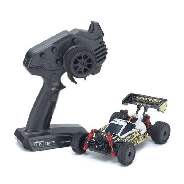 電動RCレディセット ミニッツバギースポーツ MB-010 インファーノ MP9 TKI3 ホワイト/ブラック【32091WBK】 京商