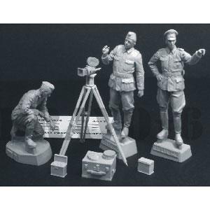 1/35 WWII 独 ドイツ陸軍宣伝中隊「撮影準備を開始せよ」【B6-35131】 Bravo 6