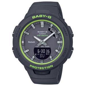 BSA-B100SC-1AJF カシオ 【国内正規品】BABY-G G-SQUAD Bluetooth クオーツ レディースタイプ [BSAB100SC1AJF]【返品種別A】
