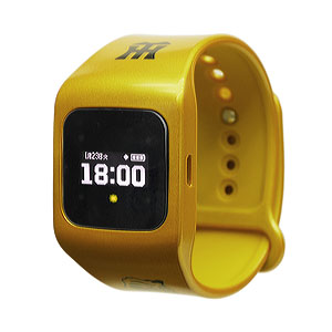 SA-BY020 シャープ 腕時計型ウェアラブル端末(メタリックイエロー) funband(ファンバンド) 阪神タイガースモデル [SABY020]【返品種別A】