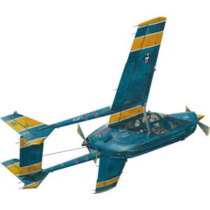 1/32 米・O-2スカイマスター双発連絡機・海軍タイプ【032T632】 ローデン