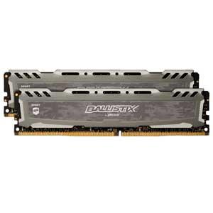 BLS2K16G4D26BFSB Crucial PC4-21300 (DDR4-2666)288pin UDIMM 32GB(16GB×2枚) Ballistix