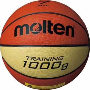 B7C9100 モルテン バスケット トレーニングボール 7号球 (天然皮革) Molten 9100