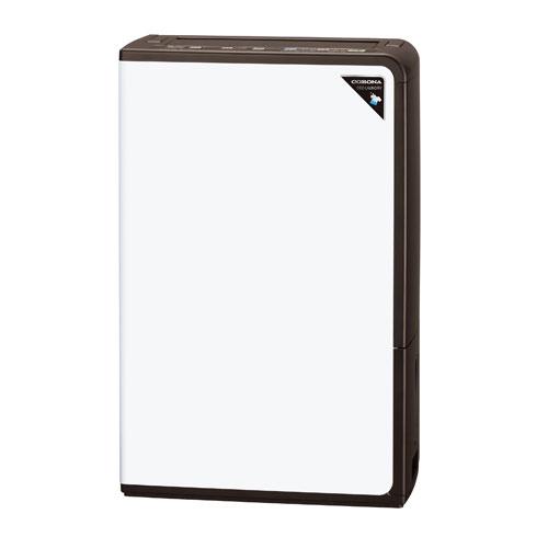 CD-H1819-TU コロナ 衣類乾燥除湿機(木造20畳/コンクリート40畳まで アーバンブラウン) CORONA コンプレッサー方式