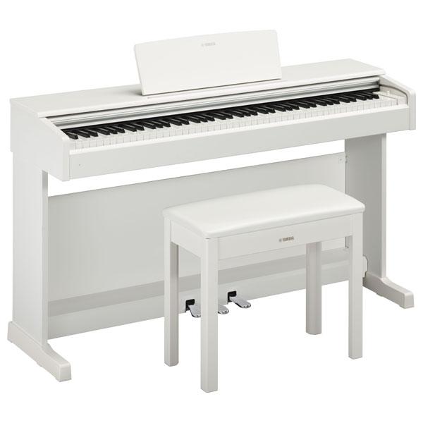 YDP-144WH ヤマハ 電子ピアノ(ホワイトウッド調仕上げ)【椅子&ヘッドホン&ソングブック付き】 YAMAHA ARIUS(アリウス)