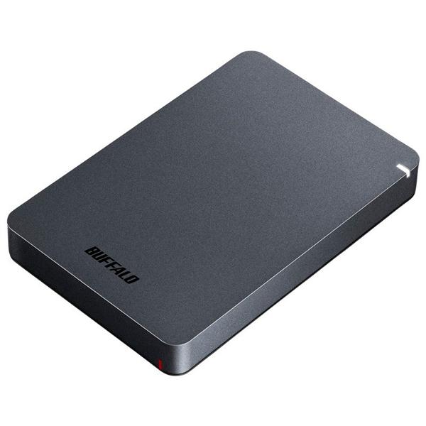 HD-PGF2.0U3-BBKA バッファロー USB3.1(Gen1)/3.0対応 ポータブルハードディスク 2.0TB(ブラック) HD-PGFU3シリーズ
