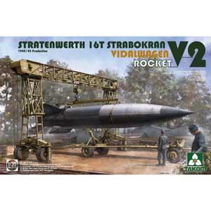1/35 シュトラーテンヴェルト社 16tガントリークレーンw/フィダルワーゲン&V2ロケット 1944/45年生産【TKO2123】 タコム