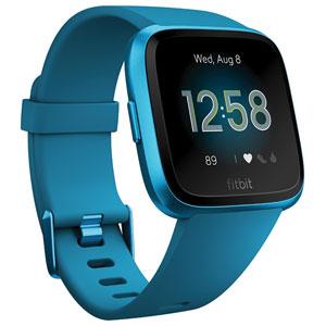 FB415BUBU-FRCJK フィットビット スマートウォッチ(Marina Blue) L/Sサイズ Fitbit Versa Lite [FB415BUBUFRCJK]【返品種別A】