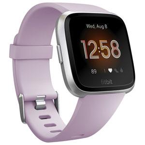 FB415SRLV-FRCJK フィットビット スマートウォッチ(Lilac/Silver Alminum) L/Sサイズ Fitbit Versa Lite [FB415SRLVFRCJK]【返品種別A】