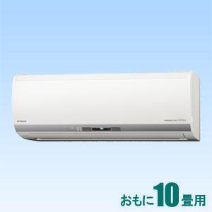 RAS-E28J-W 日立 【標準工事セットエアコン】(10000円分工事費込) 白くまくん おもに10畳用 (冷房:8~12畳/暖房:8~10畳) Eシリーズ (スターホワイト)
