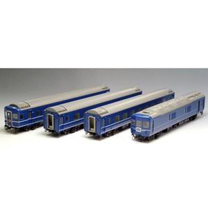 [鉄道模型]トミックス (HO) HO-9043 国鉄 24系24形特急寝台客車 4両セット
