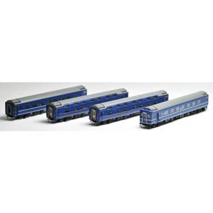 [鉄道模型]トミックス (HO) HO-9045 JR 24系24形特急寝台客車(あけぼの)増結 4両セット