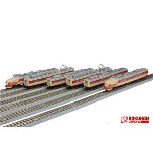 [鉄道模型]六半 (Z) T030-1 国鉄 485系特急形車両 初期型「ひばり」国鉄色(クロ481)6両基本セット