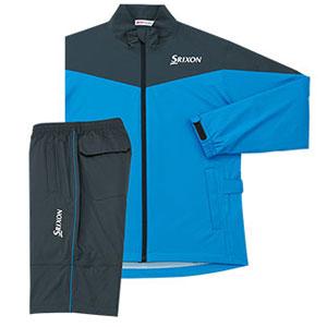 RW SMR9000 BL 3L ダンロップ スリクソン レインジャケット&パンツ(ブルー・サイズ:3L) DUNLOP SRIXON MOVE MASTER