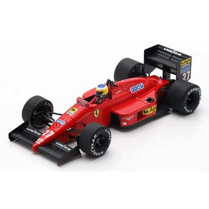 1/43 Ferrari F187 No.27 3rd Monaco GP 1987【LSRC058】 LOOKSMART