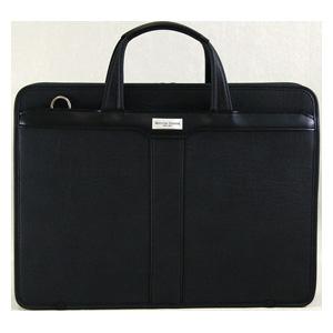 5906-01 木和田 バレンチノ・サバティーニ 2本手ビジネスバッグ(ブラック) KIWADA