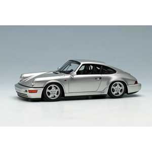 1/43 ポルシェ 911(964) カレラ RS クラブスポーツ 1992 シルバー【VM139D】 メイクアップ