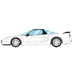 1/43 Honda NSX-R (NA2) 2002 グランプリホワイト (レッドシート)【EM389F】 メイクアップ