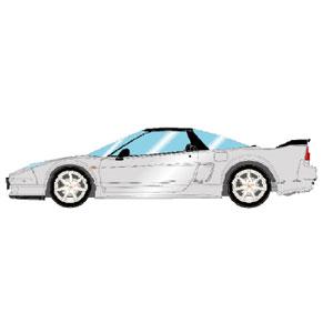 1/43 Honda NSX-R (NA2) 2002 セブリングシルバーメタリック (レッドシート)【EM389G】 メイクアップ