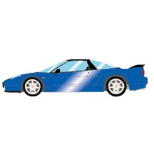 1/43 Honda NSX-R (NA2) 2002 ロングビーチブルーパール (レッドシート)【EM389H】 メイクアップ