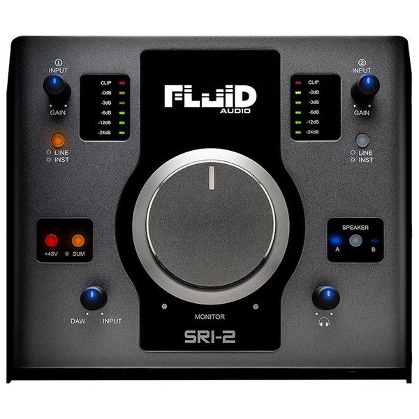 SRI-2 ローランド USBハイレゾ・オーディオインターフェース(ガンメタルブラック) Roland