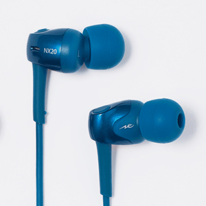 HP-NX20BTB ラディウス Bluetooth対応ダイナミック密閉型カナルイヤホン(ブルー) radius new ear NeEXTRA Series