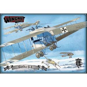 1/32 ゴータ G.1 爆撃機【WNG32045】 ウィングナット・ウィングス