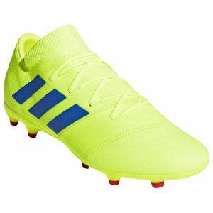 ADJ-BB9431-260 アディダス サッカー スパイク(ソーラーイエロー/フットボールブルー/アクティブレッドS19・26.0cm) adidas ネメシス 18.2 FG/AG