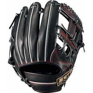 Z-BPGB12910-1900-LH ゼット 硬式野球用グラブ 二塁手・遊撃手用(ブラック・右投用・サイズ:2) ZETT ネオステイタス