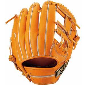 Z-BPGB12910-5600-LH ゼット 硬式野球用グラブ 二塁手・遊撃手用(オレンジ・右投用・サイズ:2) ZETT ネオステイタス