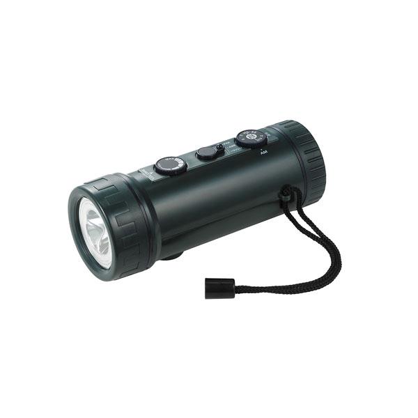 DOP-660 休み ELPA 超人気 専門店 LEDラジオ付き懐中電灯 20ルーメン DOP660