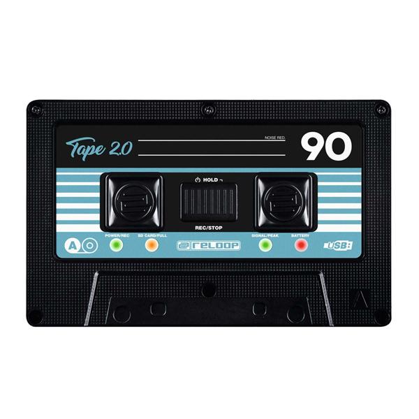 TAPE2 リループ カセットテープ型ポータブル・オーディオ・レコーダー