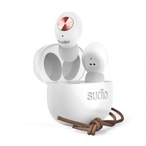 SD-0037 Sudio 完全ワイヤレス Bluetoothイヤホン(ホワイト) TOLV White