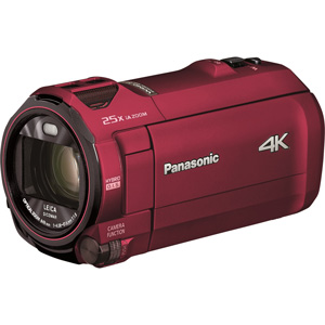 HC-VX992M-R パナソニック デジタル4Kビデオカメラ「HC-VX992M」(アーバンレッド)