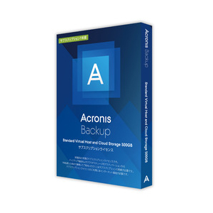 Acronis Backup Standard Virtual Host and CloudStorage 500GB SL1Y アクロニス ※パッケージ版