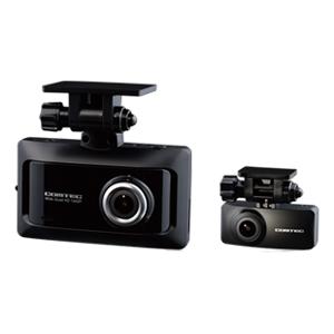 ZDR026 コムテック 前後2カメラ搭載 ドライブレコーダーGPS搭載 COMTEC