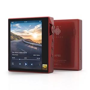 AP80RD HIDIZS ハイレゾ・デジタルオーディオプレーヤー(レッド) HIDIZS