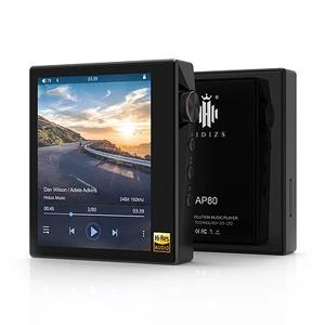 AP80BK HIDIZS ハイレゾ・デジタルオーディオプレーヤー(ブラック) HIDIZS