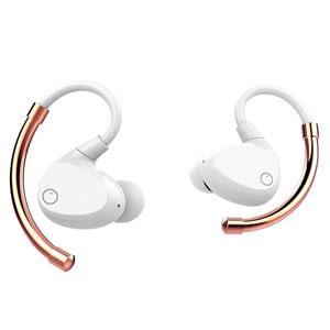 EO-1106 EOZ 完全ワイヤレス Bluetoothイヤホン(ホワイト/ローズゴールド) EOZ AIR