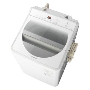 _ (標準設置料込)NA-FA80H7-W パナソニック 8.0kg 全自動洗濯機 ホワイト Panasonic